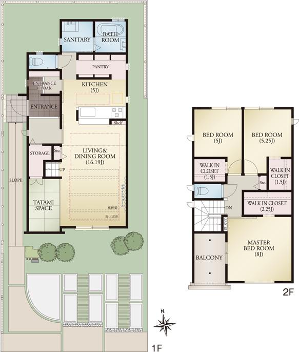 MODEL HOUSE PLAN