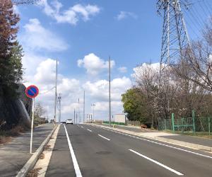 都市計画道路熊野豊明線が開通いたしました♪