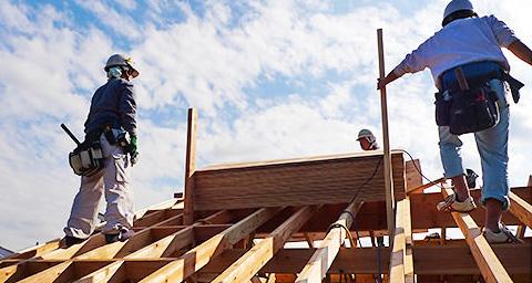 重い屋根に対応する構造