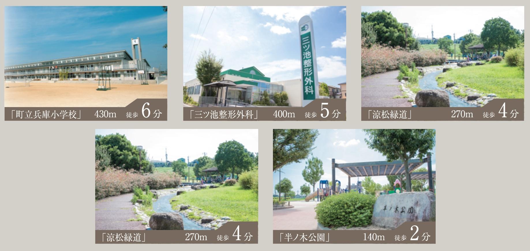 東郷三ツ池第3次 土地付分譲住宅 周辺環境