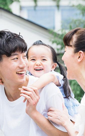 家だけでなく、住む家族も健康にしてくれる。