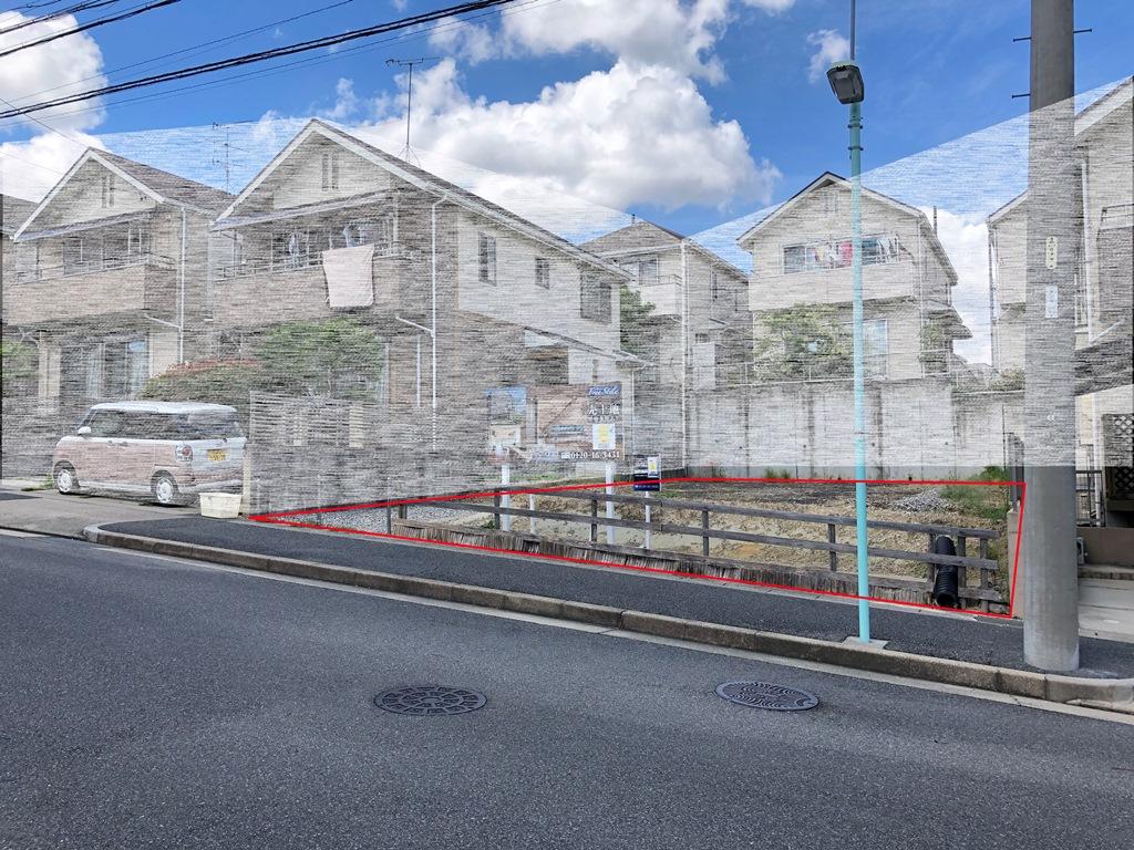 建築条件付土地分譲 八ツ松一丁目
