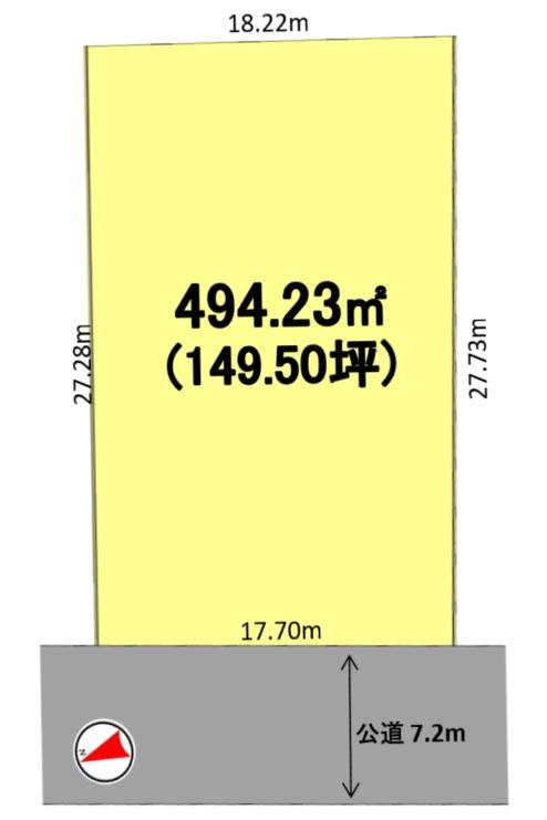 建築条件付土地分譲 昭和区五軒家町 販売区画図