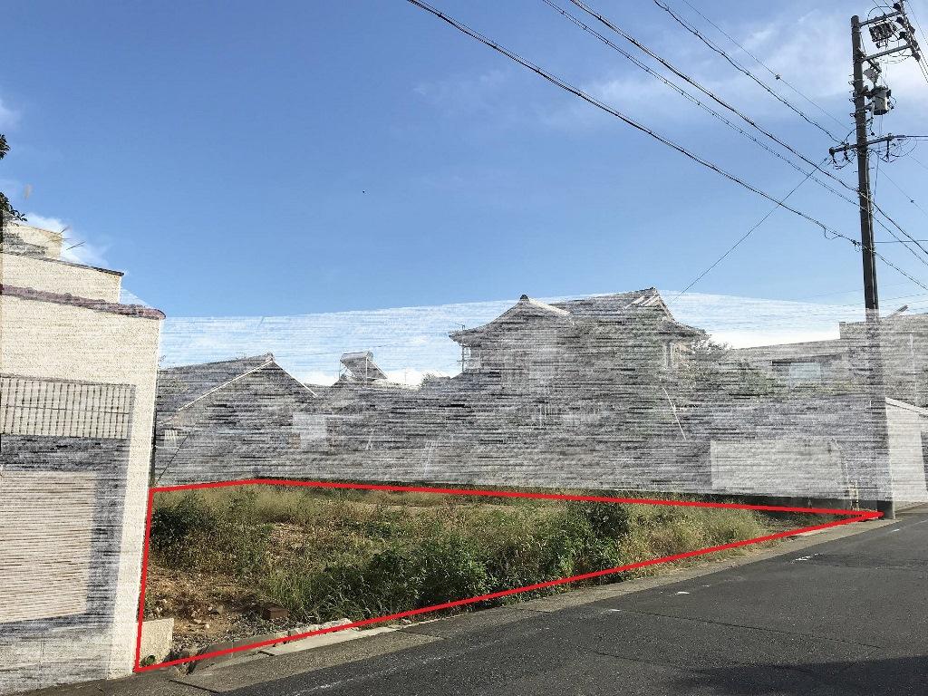 建築条件付土地分譲 昭和区五軒家町